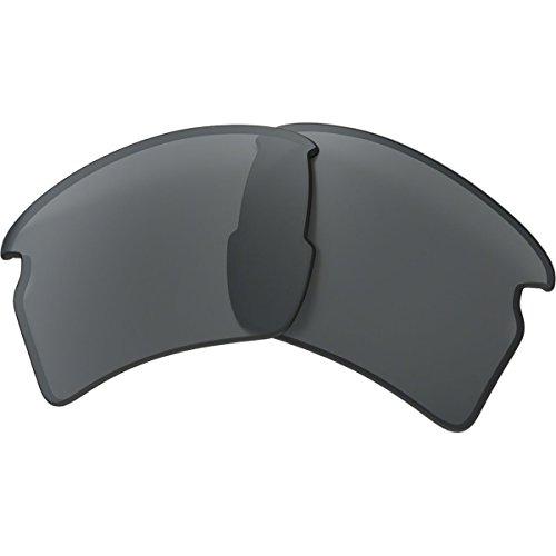 Oakley Flak 2.0 Replacement Lens Black Iridium, One Size