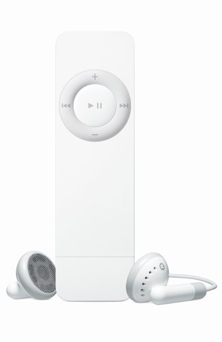 Apple iPod shuffle 512 MB White (1st Generation)  (Discontinued by Manufacturer)