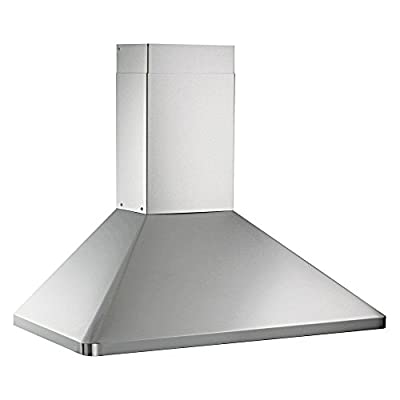 Kobe 30W in. RAX9430SQB-1 Wall Mounted Range Hood