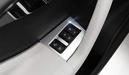 Innen Autotür Sitz Memory Schalter Armlehne Aufbewahrungs Box Rahmen Zierleisten 4stk Auto