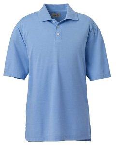 Jersey Cotton Ashworth (Ashworth 4570 Men's High Twist Cotton Tech Polo-Men's Polo-Medium-Blue [Apparel])