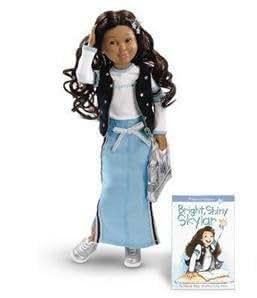 "American Girl Hopscotch Hill 16"" Skylar Doll & Book"