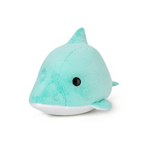 Bellzi Teal Dolphin Stuffed Animal Plush Toy - Adorable Toy Plushies and Gifts! - Dolphi -