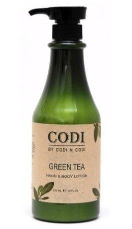 Hand Body Lotion Pump - Codi Green Tea Hand & Body Lotion 750ml/25oz (pack of 2)
