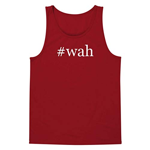 Bbe Wah Pedal - #wah - A Soft & Comfortable Hashtag Men's Tank Top, Red, X-Large