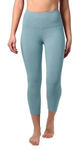 bec713a6a79df 90 Degree By Reflex - High Waist Tummy Control Shapewear - Power Flex Capri  - Tranquil