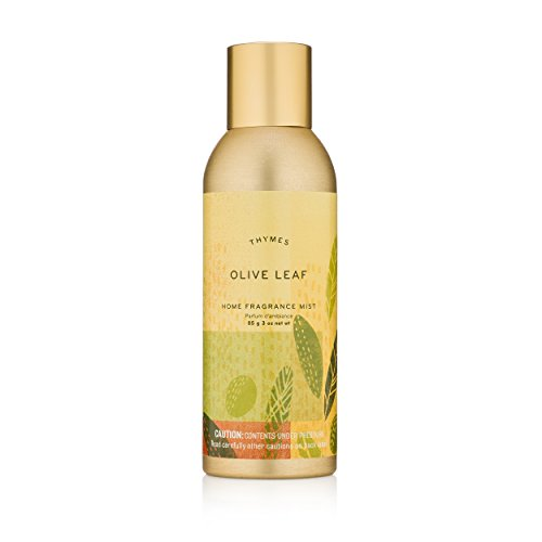 Thymes - Olive Leaf Home Fragrance Mist - Fresh Scented Room Spray - 3 (Leaf Home Fragrance Mist)