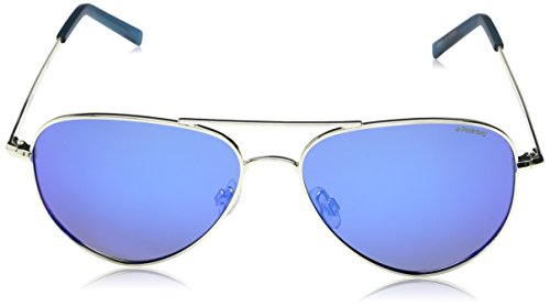 b4445b5d5 Polaroid Sunglasses PLD6012N Polarized Aviator Sunglasses, Gold/Gray Blue  Mirror Polarized, 56 mm