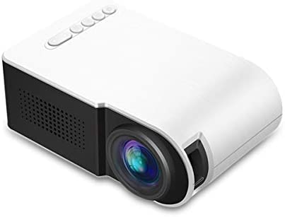 Mini proyector, proyector de vídeo LED 30000 Horas TF Tarjeta USB ...