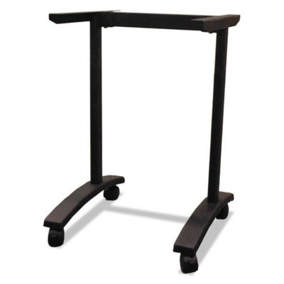 Alera Valencia Series Training Table T-Leg Base, 24-1/2w x 19-3/4d, Black by Alera