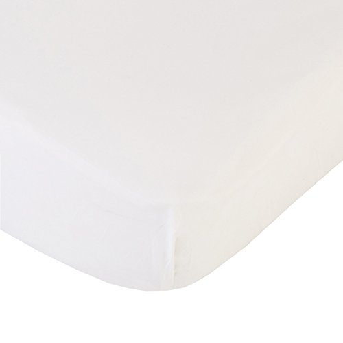 Coyuchi Organic 220 Percale Fitted Sheet, Queen - Alpine ...