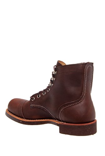 Red Wing Heritage Iron Ranger 6-Inch Boot, Amber Harness, 4 5 D(M) US