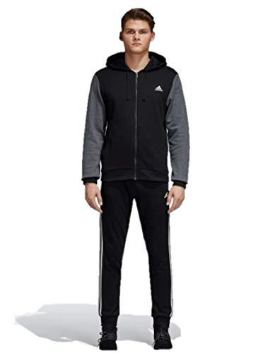 adidas Men Track Suit Running Energize Training Work Out Gym Black CZ7851 New (8 - UK 44/46 - Large)