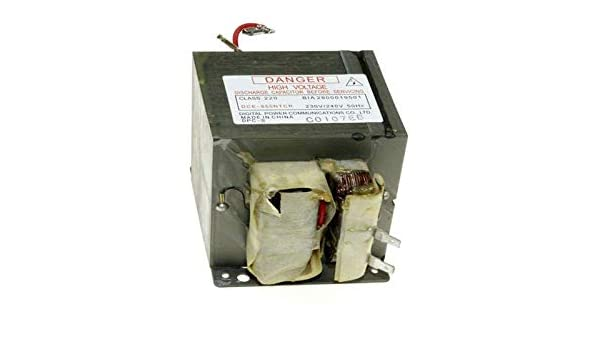 Transformador dce850ntcr referencia: 74 x 7546 para Micro ...