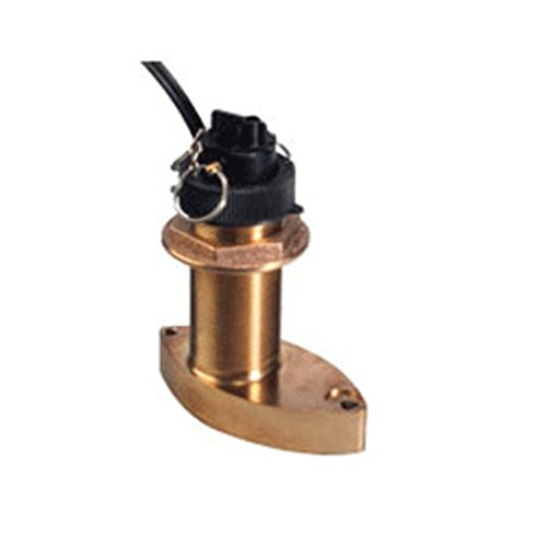 Raymarine B744V Bronze Thru Hull Triducer w/45 Cable Marine , Boating Equipment (Thru B744v Bronze Hull)