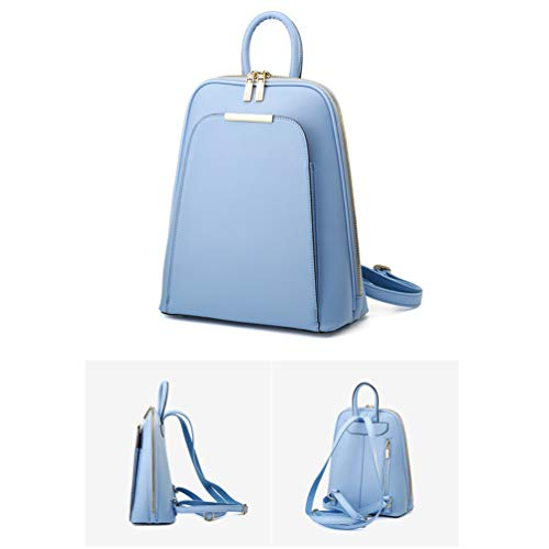 Pelle E wg Donna Viaggio Lavoro Daypack Per Ragazze Adolescenti Le blue In Weekend Moda Vacanza Donne Quotidiano Casual Fs Zaino t1BqF7