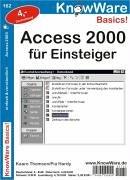 Access 2000 für Einsteiger.