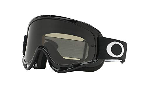 Oakley XS O-Frame with Clear Lens included MX Goggles XS O Frame & Clear AF Lens (jet black , One Size) (Youth Ski Goggles Oakley)