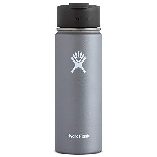 Hydro Flask Travel Coffee Flask, 20 oz, Graphite (Chocolate Christmas Hot Tumblr)