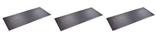 SuperMats Heavy Duty P.V.C. Mat for Treadmills/Ski Machine (2.5 Feet x 6 Feet) (3 Pack)