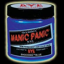 Price comparison product image Manic Panic Shocking Blue 4 fl oz/118 ml