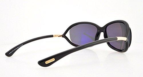 Sonnenbrille Black Jennifer Ford FT0008 Tom UZ56qvx