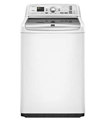 Bravos Series 4.6 Cu. Ft. Capacity XL HE Top Load Washer with PowerWash System 13 Washing Cycles Enhanced IntelliClean Impeller Energy Star Rated: White