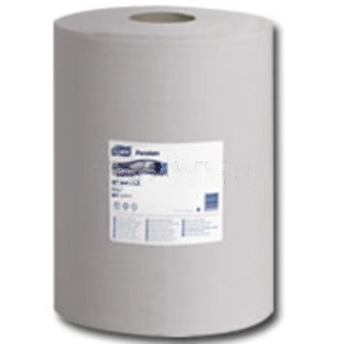 Tork Premium 520 Multipurpose Wiper, Center Pull, Grey-2pack by SCA