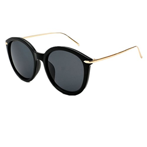 HUASHI Nameunisex-adult¡¯s Korean Couple Models Big Box Retro Sunglasses Color - Couple Sunglasses