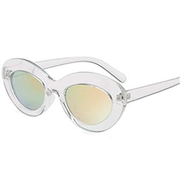 DXXHMJY Gafas de Sol Gafas de Sol ovaladas Mujeres Gafas ...