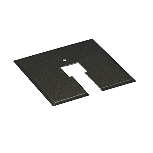 WAC Lighting CP-BK Canopy Plate for Junction Box, Black