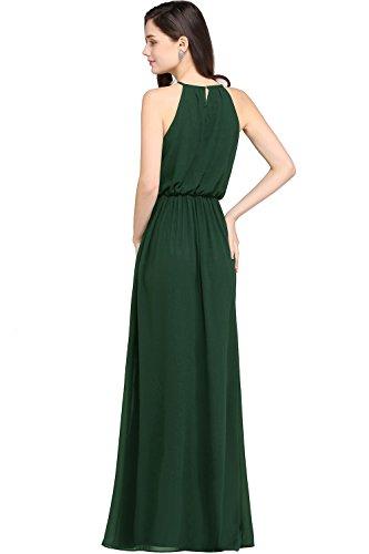 Babyonlinedress Halter Casual Maxi Dress Womens Chiffon Formal