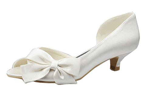 Minitoo , Escarpins pour femme White-4.5cm Heel