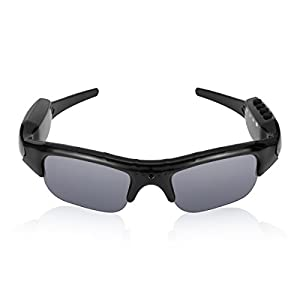 Diggro DG01 Video Glasses Sports Camcorder Polarized Lens Support 1080P HD MP3 32GB Micro SD Card Sports Sunglasses Goggle