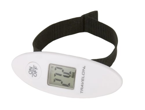 Travelon Luggage Pocket Scale, White, One Size, Bags Central