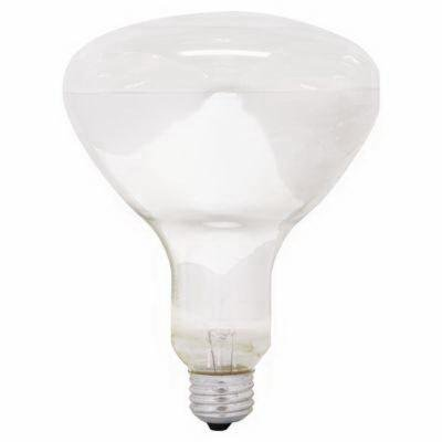 GE Lighting Incandescent Lamp, 65 watt, 130 volt, BR40, Medium Screw (E26) Base, 475 lumens, 2600 K