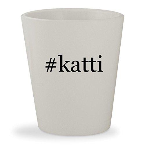 Katty Perry Costumes (#katti - White Hashtag Ceramic 1.5oz Shot Glass)