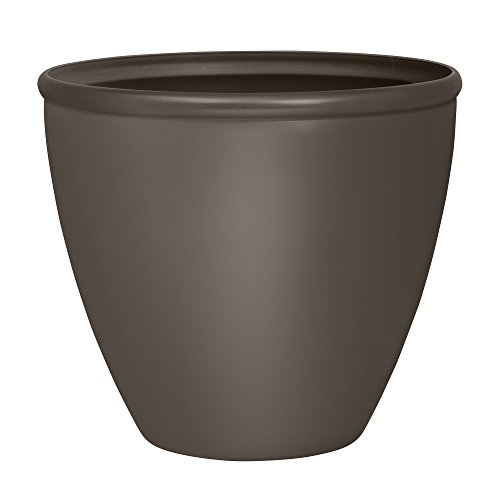 Suncast 1606b4 High Density Resin Decorated Planter, 16
