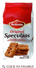 Hellema Speculaas Spiced Cookies 14 Oz (Pack of 6)