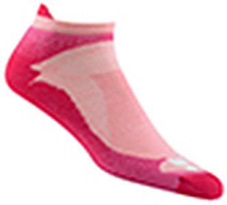 Wigwam Ironman Flash Pro Sock BrightRose Medium