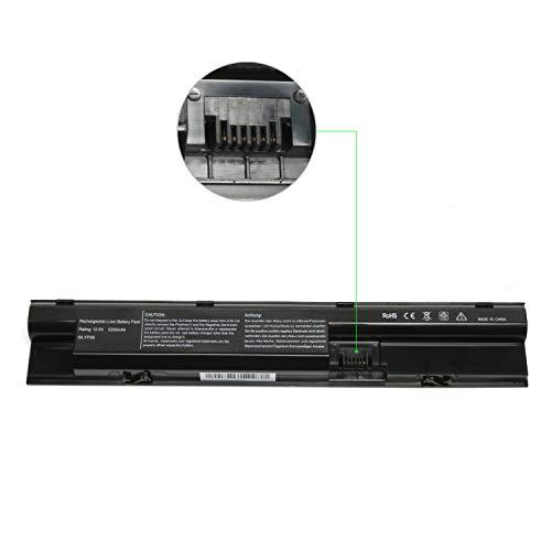 Lisen Laptop Battery Replacement For HP Probook 440 445 450 455 470 G0 G1,FP06 FP09 708457-001 707616-242 707616-421 707617-421 708458-001 H6L27AA HSTNN-IB4J HSTNN-LB4K H6L26AA HSTNN-UB4J HSTNN-W92C