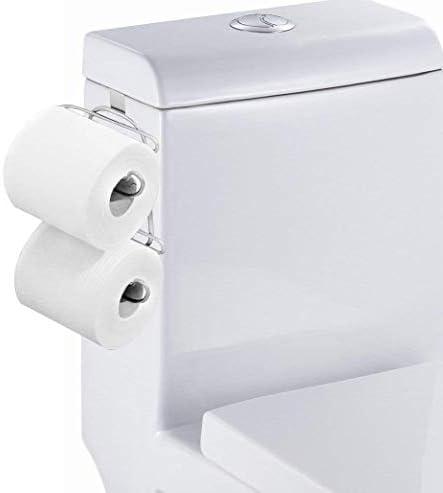 トイレカバーダブルペーパータオルホルダーフリーパンチトイレ収納ドアタオル掛け