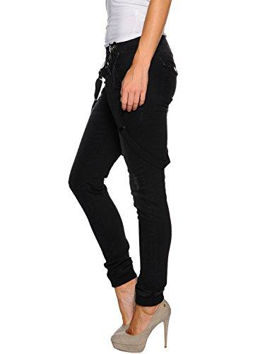 VSCT Damen Bente Black With Suspenders Jeans
