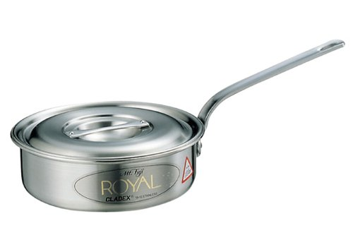 18-10 Royal saute pan XTD-210 21‡p by EBM