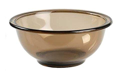 Corning Ware / Pyrex Fireside Amber Mixing Bowl ( 8 1/2