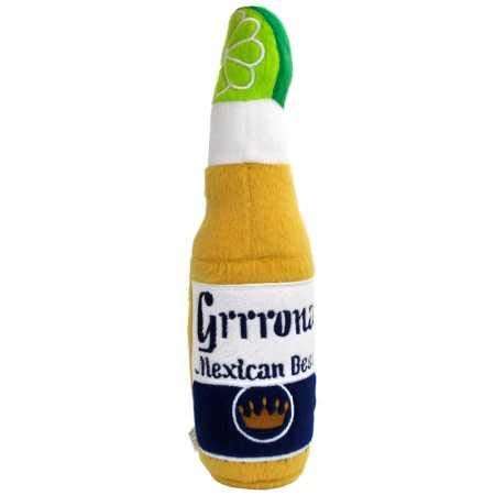 Haute Diggity Dog Grrrona Mexican Beer Plush Toy Large (Stuff Cool Mexican)