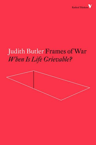 Frames War Grievable Radical Thinkers product image
