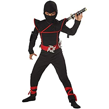 Amazon.com: Charades Ninja Avenger Costume Jumpsuit, color ...