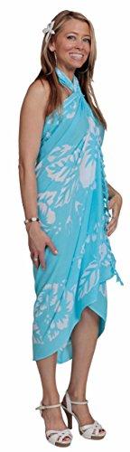 a Sarong Femminile in da con Sarong 1 Ibisco di di Fiori Costume Femmes scelta Fiore waEtO