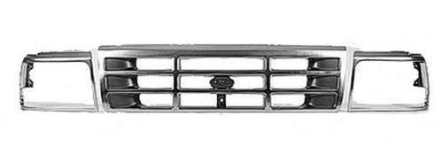 96 Bronco Assembly Grille Ford (Center Grille for Bronco, F Super Duty, F-150, F-250, F-350, F53, F59 FO1200323)
